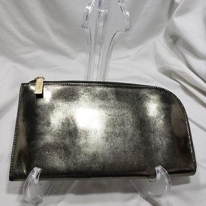 C8,455 Hobo Bronze Metallic Wallet Clutch